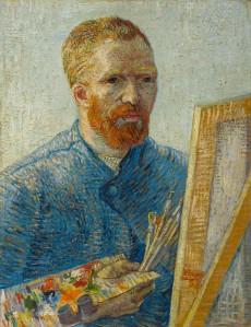 Self-portrait as a painter, 1887-1888 [Vincent van Gogh, Zelfportret als schilder, 1887, Parijs, Van Gogh Museum, Amsterdam (Vincent van Gogh Stichting)] Vincent van Gogh (1853-1890) Paris Van Gogh Museum, Amsterdam (Vincent van Gogh Foundation)