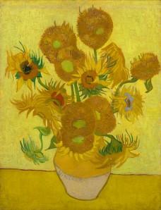 Sunflowers, 1889 [Vincent van Gogh (1853-1890), Zonnebloemen/Sunflowers, 1889, Van Gogh Museum, Amsterdam (Vincent van Gogh Stichting)] Vincent van Gogh (1853-1890) Arles Van Gogh Museum, Amsterdam (Vincent van Gogh Foundation)