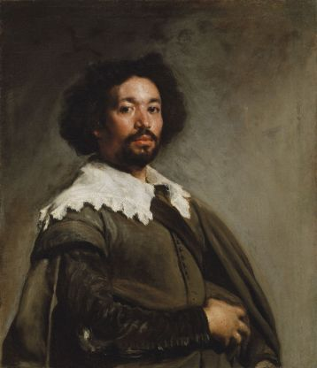 Juan de Pareja, 1650, Velázquez. Oil on canvas. The Metropolitan Museum of Art, New York.