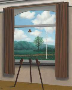 La condition humaine (The Human Condition), 1933, René Magritte. Oil on canvas. National Gallery of Art, Washington.