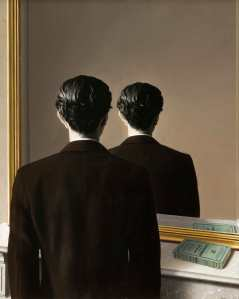 La reproduction interdite (Not to be Reproduced), 1937, René Magritte. Oil on canvas. Museum Boijmans van Beuningen, Rotterdam.