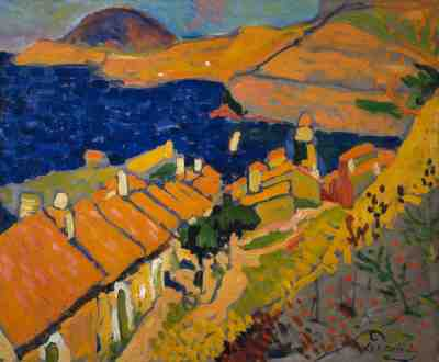 Collioure, 1905, André Derain. Oil on canvas. Scottish National Gallery of Modern Art, Edinburgh.