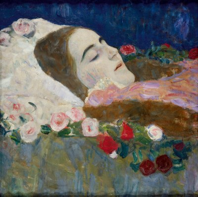 Ria Munk on her Deathbed, 1912, Gustav Klimt. Oil on canvas. Private Collection Courtesy Richard Nagy Ltd., London © Photo courtesy of the owner.
