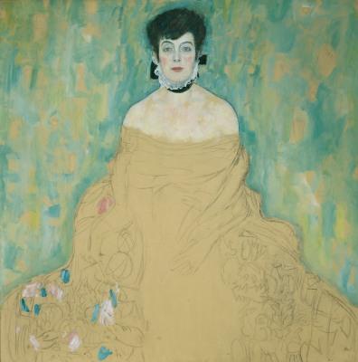 Portrait of Amalie Zuckerkandl, 1917-18, Gustav Klimt. Oil on canvas. © Belvedere, Vienna. Donated by Vita and Gustav Künstler.
