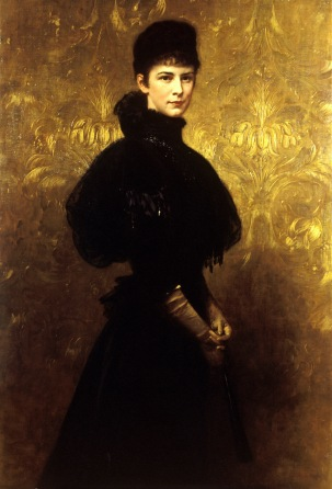 Portrait of Empress Elisabeth, 1899, Gyula Benczúr. Oil on canvas. Hungarian National Museum Historical Gallery © Magyar Nemzeti Múzeum, Budapest