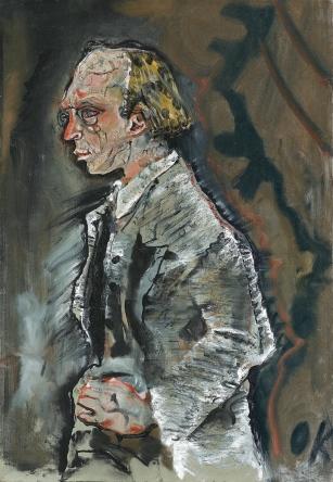 Portrait Herwarth Walden, 1910, Oskar Kokoschka. Oil on canvas. Staatsgalerie Stuttgart.