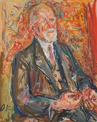 Federal President Theodor Körner as Mayor of Vienna, 1949, Oskar Kokoschka. Oil on canvas. Kunstmuseum Linz.